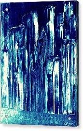 Manhattan Nocturne Acrylic Print