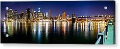 Manhattan Skyline - Southside Acrylic Print