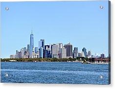 Manhattan Skyline 1 Acrylic Print