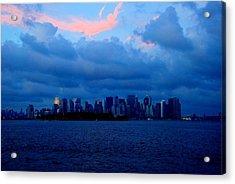 Manhattan Skyline Acrylic Print
