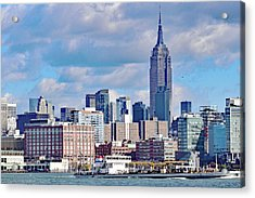 Manhattan Skyline No. 7-1 Acrylic Print