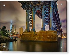 Manhattan Steel Acrylic Print