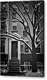 Manhattan Town House Acrylic Print