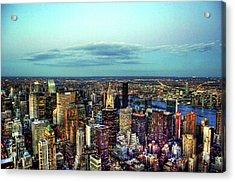 Manhattan's Upper East Side Acrylic Print by Randy Aveille