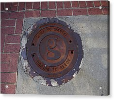 Manhole II Acrylic Print