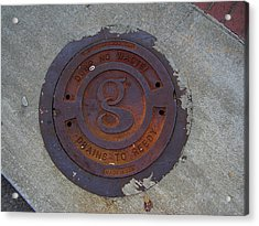 Manhole IIi Acrylic Print