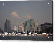 Manila Bay.  Acrylic Print