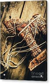 Manipulating The Trojans  Acrylic Print