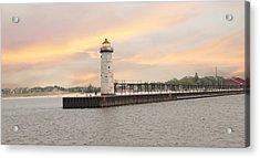 Manistee North Pierhead Lighthouse Acrylic Print