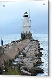 Manitowoc Breakwater Lighthouse  Acrylic Print