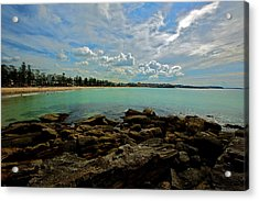 Manly Bliss Acrylic Print