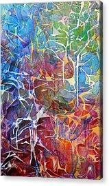 Manna Acrylic Print by Arlissa Vaughn