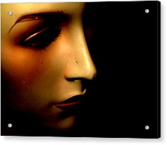 Mannequin Acrylic Print by Angela Conway