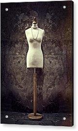Mannequin Acrylic Print by Joana Kruse