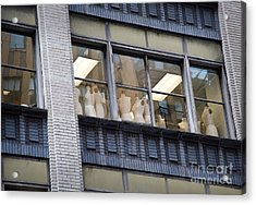 Mannequin-union Acrylic Print by Fred Lassmann