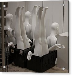 Mannequins Acrylic Print