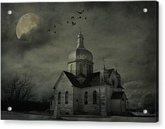 Mannerisms Of Midnight  Acrylic Print by JC Photography and Art