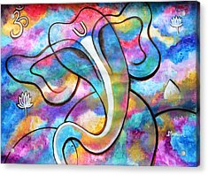 Manomay-ganesha  Acrylic Print