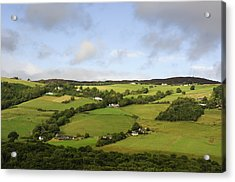 Acrylic Print featuring the photograph Manors On A Hillside by Christi Kraft