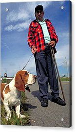 Man's Best Friend Acrylic Print