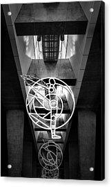 Man's Spheres Acrylic Print