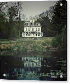Mansion Reflected At Waterloo Acrylic Print