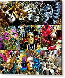 Acrylic Print featuring the photograph Many Faces by Amanda Eberly-Kudamik