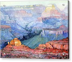 Acrylic Print featuring the painting Many Hues by Steve Henderson