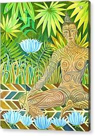 Maori Tara  Acrylic Print by Jennifer Baird
