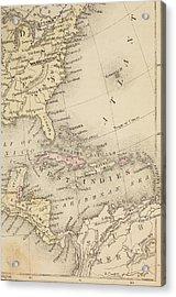 Map Acrylic Print