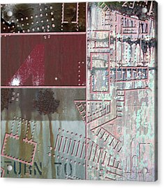 Maps #17 Acrylic Print
