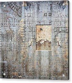Maps #18 Acrylic Print