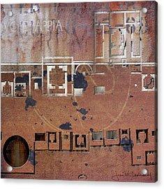 Maps #19 Acrylic Print