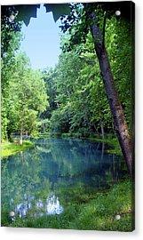Maramec Springs 2 Acrylic Print by Marty Koch