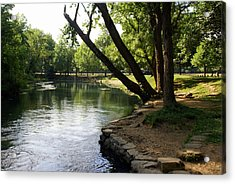 Maramec Springs 5 Acrylic Print by Marty Koch