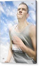 Marathon Motions Acrylic Print by Jorgo Photography - Wall Art Gallery