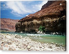 Marble Canyon Acrylic Print by Kathy McClure