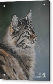 Marble Acrylic Print by Charlotte Yealey