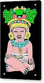 Marble Maya Acrylic Print