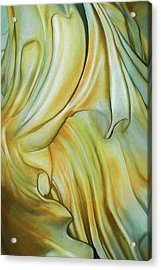 Marble Robe Acrylic Print by Becky Titus