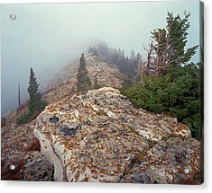 Marble View Fog Acrylic Print