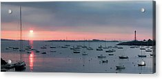 Marblehead Dawn Light Acrylic Print by Jeff Folger