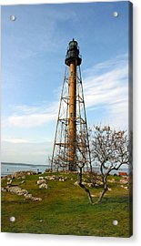 Marblehead Light Acrylic Print by Michelle Wiarda