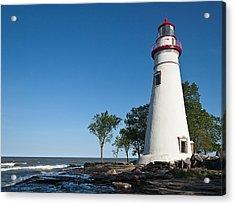 Marblehead Lighthouse Acrylic Print by Dale Kincaid
