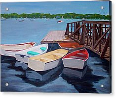 Marblehead Yacht Club Acrylic Print