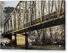 Marblemount Wa Bridge Acrylic Print