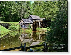 Marby Mill 2 Acrylic Print by Paul Ward