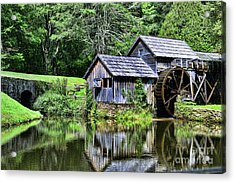 Marby Mill 3 Acrylic Print by Paul Ward