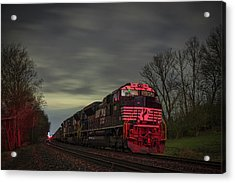 March 25 2017 Ns 871 At Lyle Siding Princeton In Acrylic Print