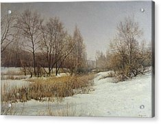 March Acrylic Print by Andrey Soldatenko